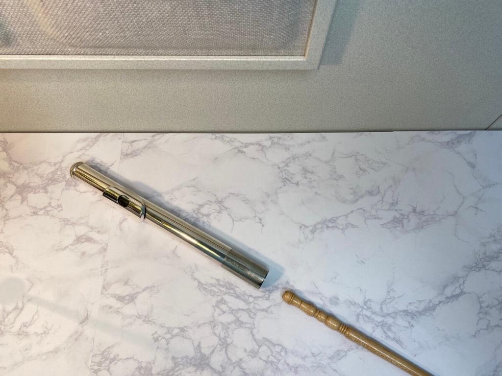 頭部管と掃除棒
